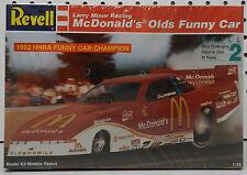 CRUZ 1992 OLDSMOBILE OLDS FUNNY CAR MCDONALDS SLOT LARRY MINOR REVELL MODEL KIT