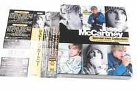 JESSE MCCARTNEY SPECIAL LIVE COLLECTION CD+DVD JAPAN OBI A14347