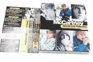 JESSE MCCARTNEY SPECIAL LIVE COLLECTION CD+DVD JAPAN OBI A14347