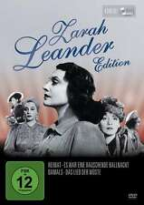 ZARAH LEANDER EDITION Exhilarating Ball Night HOME At that time WÜSTE 4 DVD Box