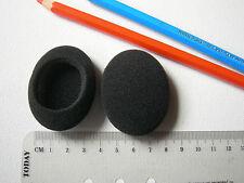 Embouts mousse coussinet oreillette casque ovale 54x43 p.e. pour Sony MDR-023