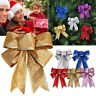 5 Colors Cute Bows Bowknot Christmas Tree Party Gift Present Festival Xmas Decor