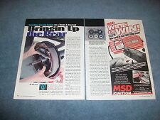 How-To Tech Info Article on MT Products Lincoln Brakes on a Model A Rearend Ford