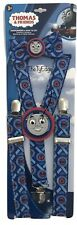 1X Thomas & Friends Themed Adjustable Clip Suspenders & Bow Tie Set Toddler 3+