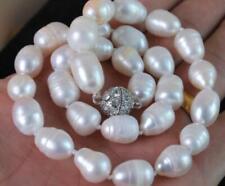 9-11mm weißen Akoya-Zuchtperlen Halskette 45CM