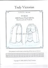 Truly Victorian sewing pattern for 1885 Pannier Panel add on TV381-R