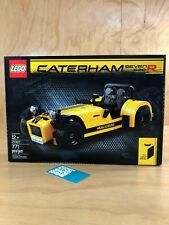 LEGO CATERHAM SEVEN 620R #014 IDEAS YELLOW BLACK 771 PIECES 21307 NISB RECEIPT