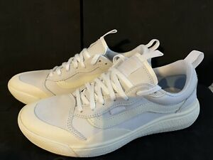 Vans Ultrarange Exo SE Running Shoes True White Antique White Men's 9.5, NIB