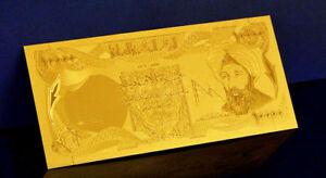 "★★ IRAK / IRAQ : BILLET POLYMER  "" OR "" DU 10000 DINARS ★"