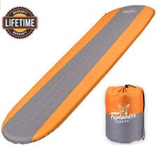 Self Inflating Sleeping Pad Lightweight - Compact Foam Padding Waterproof Inflat