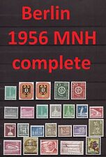 Berlin Complete Year 1956 MNH Stamps, Mi. 135-158, Germany Yearset