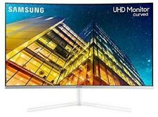 "NEW Samsung 4K UHD Curved 32"" 3840x2160 Super Slim Immersive LED U32R591CWN"