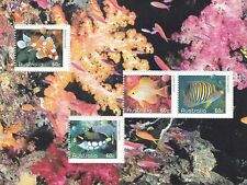Australia 2010 Fishes of the Reef Special Minisheet MNH