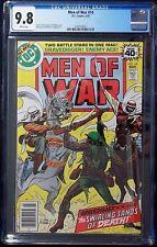 Men of War #14 CGC 9.8,  Joe Kobert cover art, Gravedigger, Enemy Ace apperance