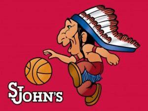 St. John's Redmen Banned Logo Mens Polo XS-6X, LT-4XLT New