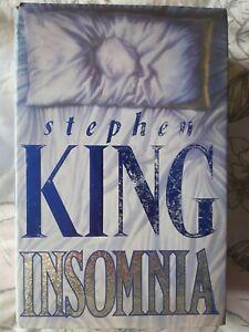 Insomnia Stephen King UK First Edition Hardback