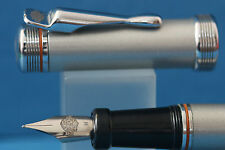 c1990 Harley Davidson Acier Steel Medium Fountain Pen