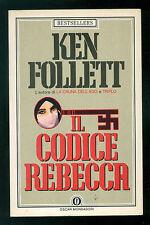 FOLLETT KEN IL CODICE REBECCA MONDADORI 1984 OSCAR BESTSELLERS 1