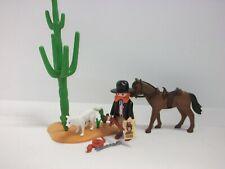 Playmobil ® Western  SET Sheriff Figur mit Pferd Zubehör