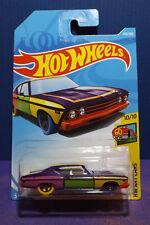 HOT WHEELS '69 CHEVELLE SS 396 - New 2018 HW ART CARS Series No.10/10, Long Card