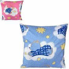 Cojines decorativos de color principal azul para niños