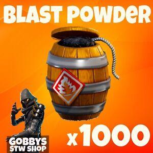 Fortnite Save The World - 1000 BLAST POWDER - FOR PC - XBOX - PS4