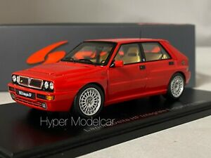 SPARK MODEL 1/43 LANCIA DELTA HF INTEGRALE EVOLUZIONE 1993 RED ART. S8994