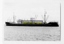 rp4869 - Danish Cargo Ship - Kina - photograph 6x4