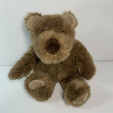 "Gund Collector's Classic Bear Bigbee Brown Plush 11"" Soft 1989 Stuffed Animal"