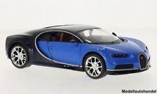 Bugatti Chiron blau/dunkelblau 2016  - 1:24 MAISTO