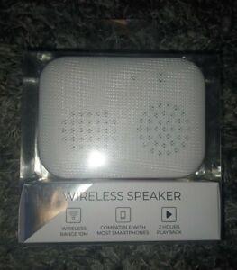Justice rose gold wireless speaker new