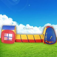 Kids Pop Up Play House Tent Hut Children Pretend Indoor Outdoor Toy Game US SHIP