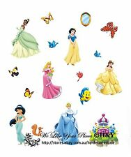Giant Disney Princess Baby Kids Wall Decor Nursery Decal Stickers Removable Art