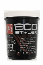 ECO STYLER ALCOHOL-FREE PROTEIN STYLING GEL FIRM HOLD 32 FL. OZ.