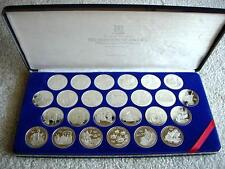 BRITISH VIRGIN ISLANDS 25 Silver Proof Set 1992 Discovery of America