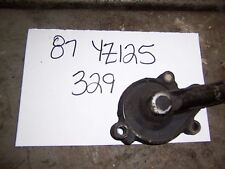 yamaha yz125 yz 125 engine right water pump housing cover 1987 87 86 1986