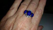 LeVian 14 kt lapis lazuli ring, size 6