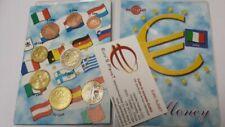 Pièces en euro d'Italie année 2002