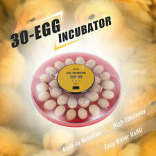 Goose Egg Incubator and Hatching Machine Poultry Hatcher w Auto Turner & More