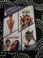 Love  Laughs Collection: 4 Film Favorites (DVD, 2011, 4-Disc Set)