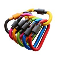 Ring Mountaineering Carabiner With Alloy Lock Outdoor Safety Buckle Climbing