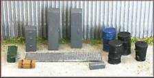 Knightwing B25 Loco Shed / Engineering Yard Maintenance Pack 2 OO Gauge
