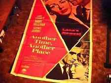 ANOTHER TIME PLACE 3sh POSTER LANA TURNER SEAN CONNERY