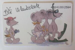 Telefonkarten Bärbel Haas, Maus Die Urlaubskarte  ♥ (1201)