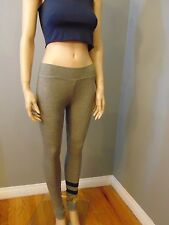 Sundry Stripes Yoga Pants Leggings Sweatpants Size 2 Medium M NEW $106 Pilates