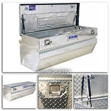 """Single Lid Wide Truck Box 48"""" Pickup Flat Bed Tool Boxes Chains Storage Chest In"""