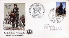 Belgien 1631 FDC, Tag der Briefmarke 1971