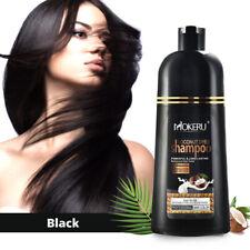 Mokeru Hair Color Shampoo Natural Coconut Oil Essence Hair Dye Permanent 500ml