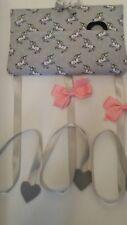 Hair bow holder. Hair clip holder/tidy. padded. fabric. Handmade