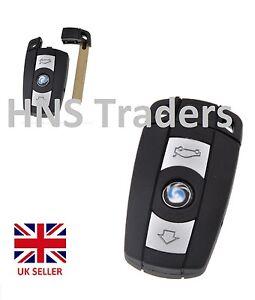 New For BMW 1 3 5 6 7 Series E90 E92 E93 3 Button Remote Key Case with logo A24*